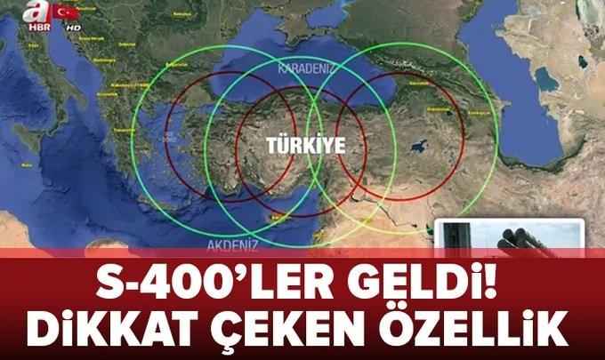 S-400'lerin Ankara'ya teslimatı başladı! Peki S-400 nedir? Özellikleri nelerdir?